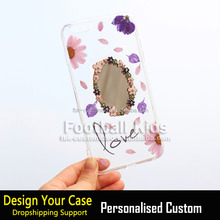 Ultra thin for iphone 6 clear case custom transparent TPU PC cell phone case bulk buy phone cases from China