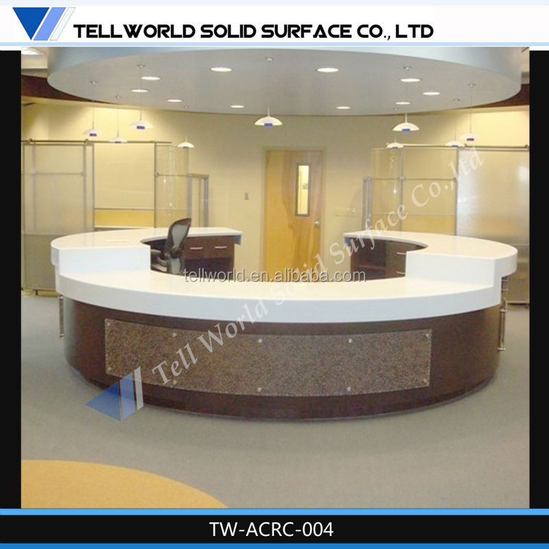 circular reception desk classic design for hotel lobby buy circular reception deskclub reception counterhotel reception table product on alibabacom - Hotel Front Desk Counter Design