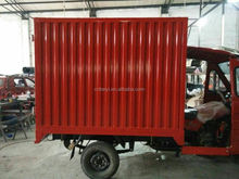 Best Selling Three Wheeler Cargo Van Tricycle With Container