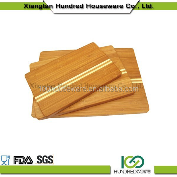 Vegetable cutting kitchen board with high quality 5 years old bamboo material