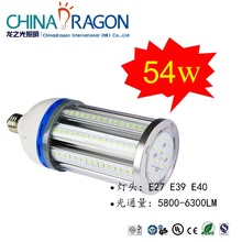 samsung/Epistar LED Corn Light zhong 40w 45W 54w IP64 5 years warranty pu