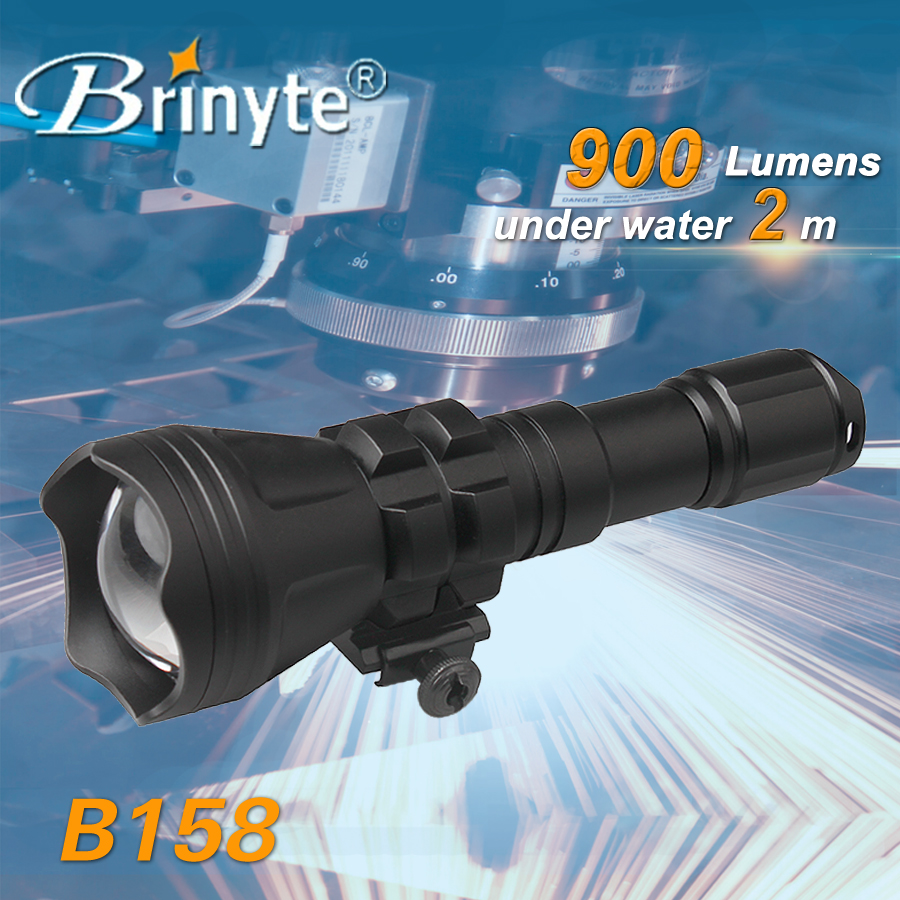2016 New Product Brinyte led hunting search zoomable flashlight