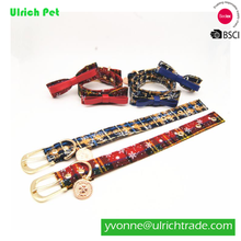 Christmas series pet collar bowknot collar
