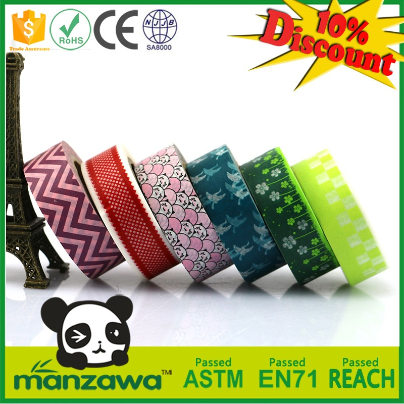 New design low price tamper evident security tape promotion party decoration tape fabric decorative lace tape