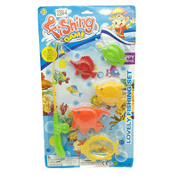Funny Plastic Kids Fishing Game Toys