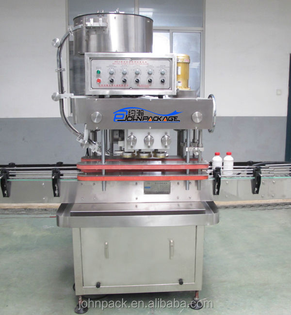 automatic liner capping machine