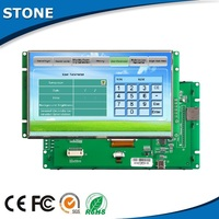 "5"" lcd display controller intelligent keyboard home touch automation screen"