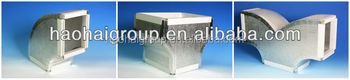 Manufacturering PU Polyurethane Phenolic Pre-Insulated Air Duct Panel