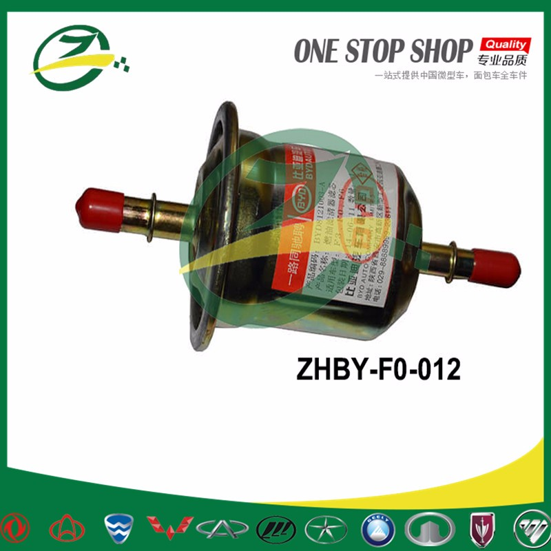 Car engine parts fuel filter for BYD F0 F3 F6 byd auto spare parts