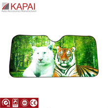 Promotional custom front windshield car side window sunshade