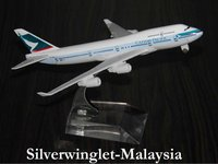 Cathay Pacific Airlines Boeing B747-400 Diecast Aircraft Scale Model