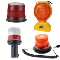 Factory manufacturing best price solar power led warning light