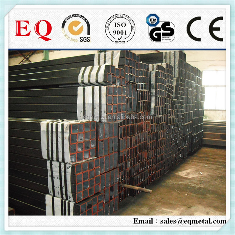 High precision seamless steel tube #20 10x10 square steel tube mild steel tube weight chart