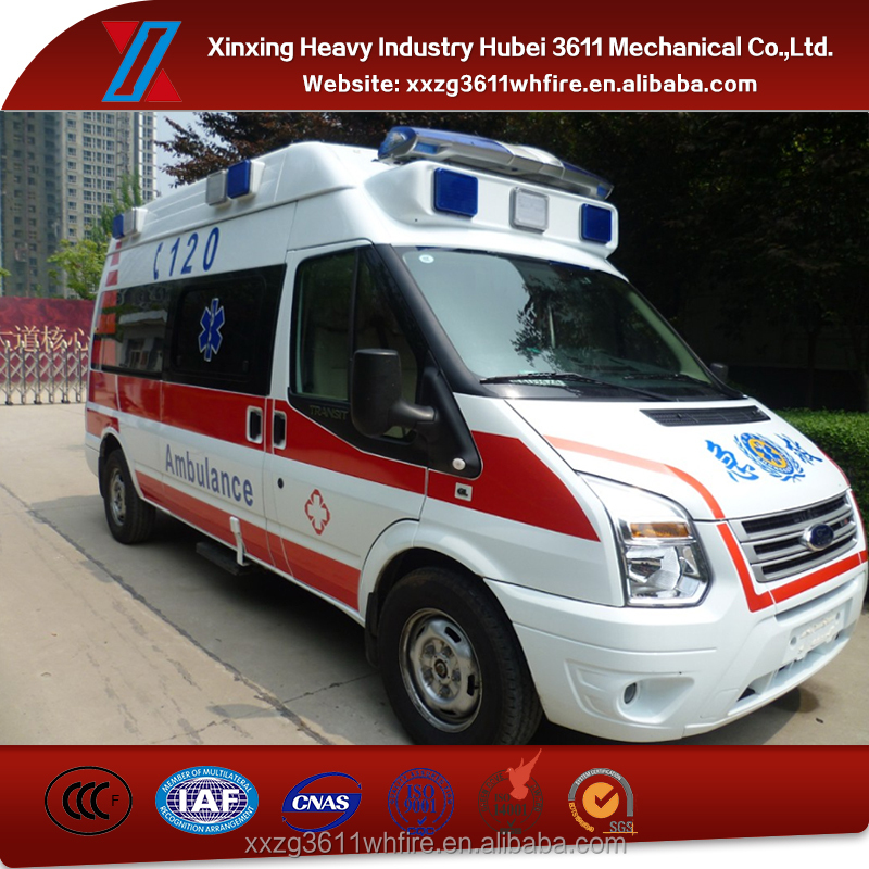 China Supplier New Diesel Emergency Resuce Hospital Ambulance