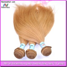 Hot selling new coming virgin human hair no shedding no tangle can be wash bonding machine for hair extension