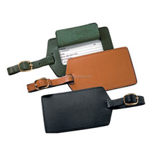 leather baggage claim tag thermal baggage tag