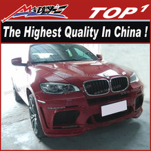 Bodykit for BMW X6 to X6M OEM style PU FRP bodykit