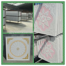 suspended false ceiling tiles GRG gypsum board / GRG board ceiling / glass fiber reinforced gypsum ceiling
