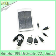 Wholesale 5000mah solar battery charger kit for all kinds mobilephone