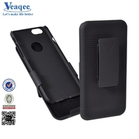 Veaqee multifunctional plastic mobile phone holster cover for iphone 6