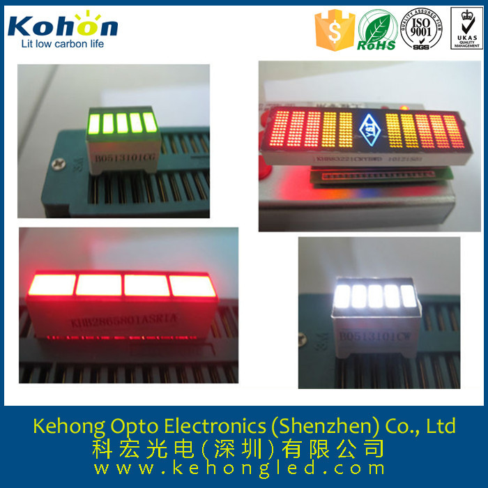 7- segment led time and temperature display for fridge