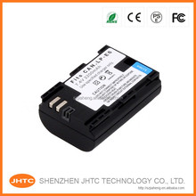 LP-E6 7.4V 2650mAh Decoded Li-ion Battery for Canon LP-E6 LPE6 EOS 60D 5D Mark II III 6D 7D + More - Black