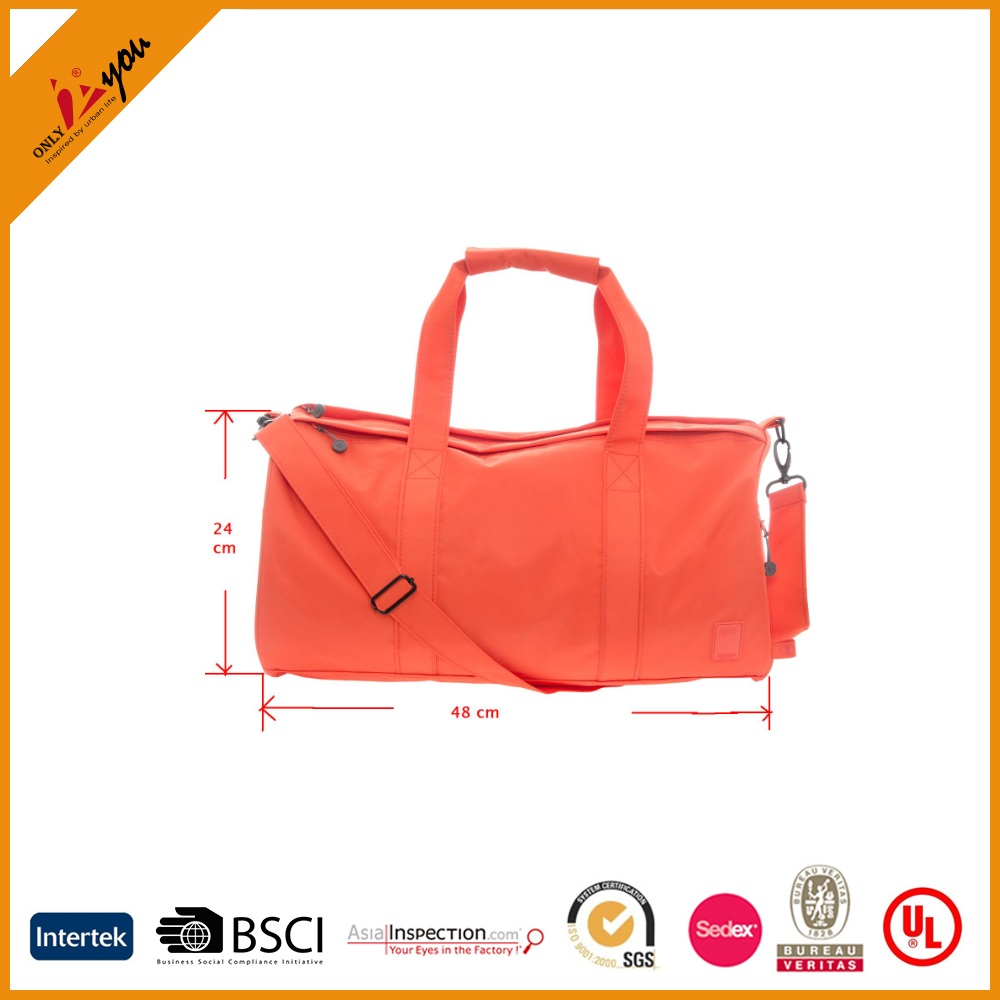 Travel bag Fashionable Recycled PET Fabric bag
