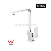 Guangdong Kaiping OTOL Manufactured Australia Hot Selling Long Neck Swivel Spout Water Mixer Hot Cold Kitchen Tap