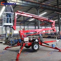 Hydraulic man lift for window cleaning