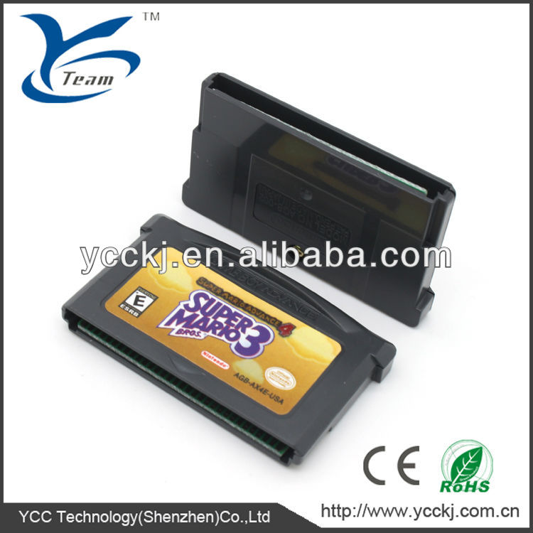 The calculable manufacturer for GBA game card