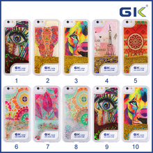 [GGIT] Wholesale Paint Style Call Flash TPU Mobile Phone Cover For IPhone 6 LED Liquid Case