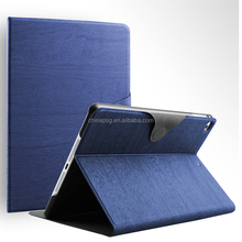 Good quality folding Strap Designed Transparent waterproof tree texture pu leather tablet cover for Apple iPad 56