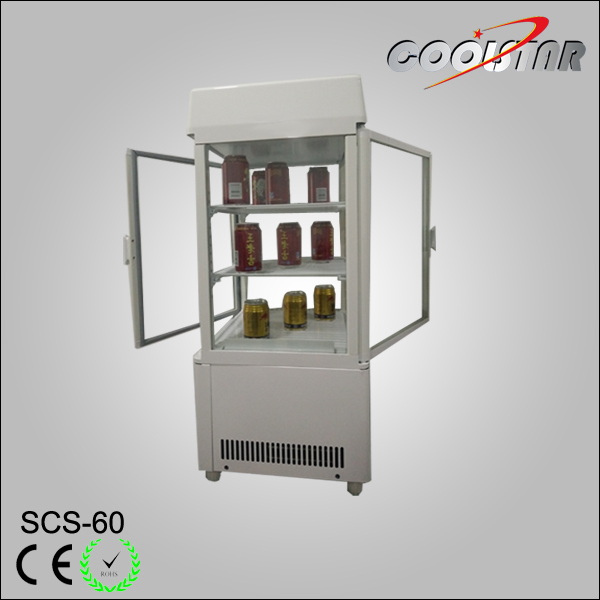 55L brand new mini four glass door display cooler