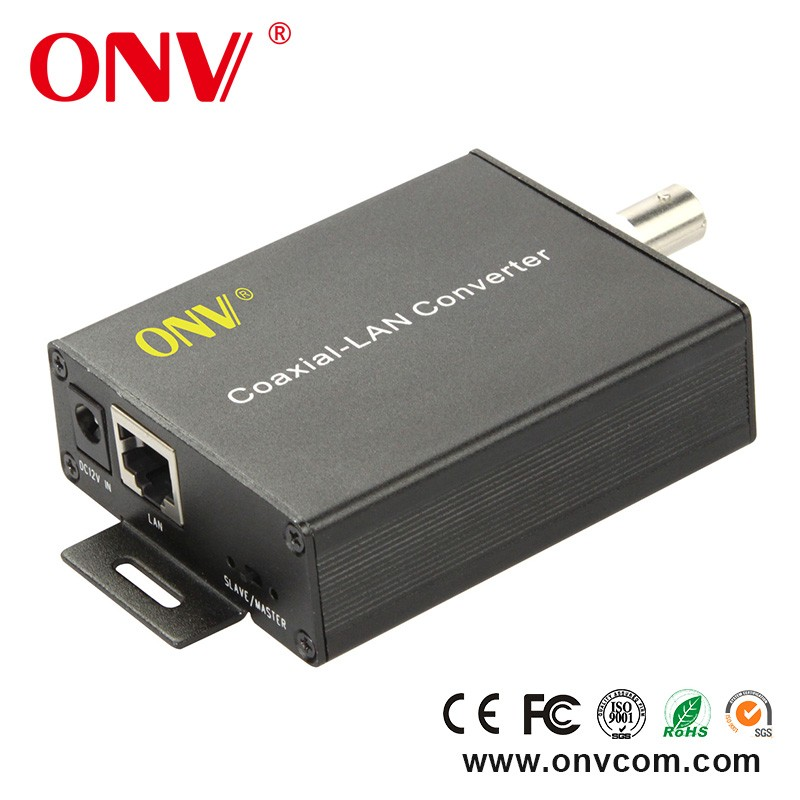 Coaxial to Ethernet Converter with WiFi, EoC Qualcomm or MStar solution BNC s485 port with Rj45 port