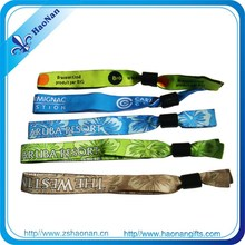 Merchandise custom design hand bands with print logo for festival birthday party