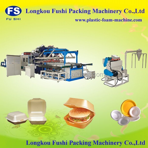 the equipment for manufacture of disposable packaging