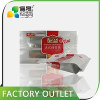 eco friendly product food packaging for nuts reusable snack bags