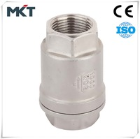 With 10 years manufacturing experience Stainless Steel CF8M vertical lift check valve for water