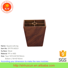 Wooden finish furniture spare parts