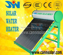 Compact non Pressure Solar Water Heater, heating solar energy product(CE&EN12975&SOALR KEY MARK)
