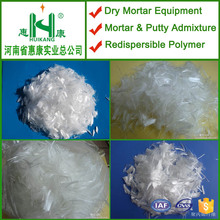 19mm length anti-cracking polypropylene fiber for concrete