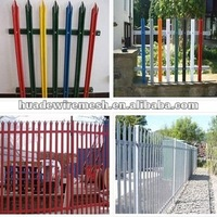 outdoor playground palisade fence