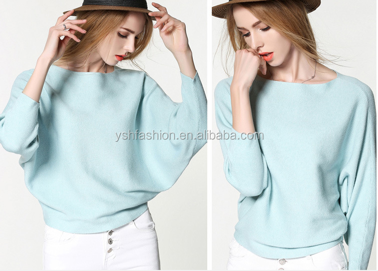 New arrived cheap ladies fashion round collar long sleeve cardigan sweater