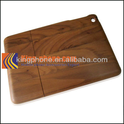 wholesale high quality black wulnut Wood case for ipad mini