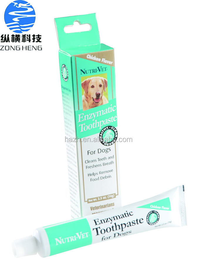70g Whitening dog toothpaste with toothbrush best care for dog teeth
