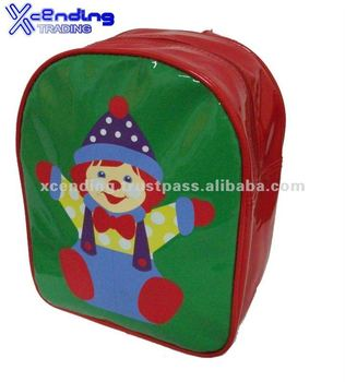 Customized PVC kid's school backpack