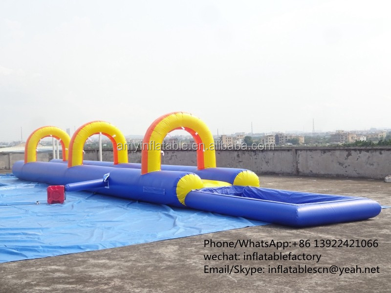 PK Outdoor Water Playground Kids Slide Cheap Inflatable Water Slides For Sale