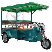 48v 850w battery powered passenger rickshaw