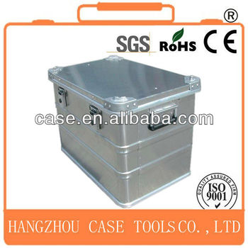 waterproof shockproof aluminum case,aluminum die case,silver high quality aluminum case