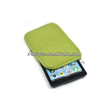 Stylish Quality Velvet Zipper Case for iPad Mini